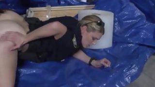 Petite black lesbian massage Cheater caught doing misdemeanor