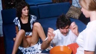 Linda Lovelace, Harry Reems, Dolly Sharp in classic porn video