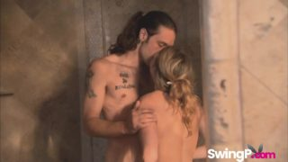 Hot swingers banging each other