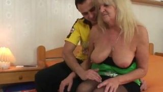 Son vs Granny 80 years old milfs porn
