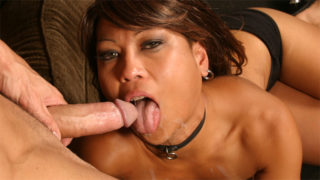 Asian hottie Max Mikita best blowjob action