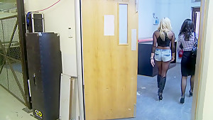 Amazing pornstars Kaia Kane and Michelle Thorne in fabulous blonde, mature porn movie